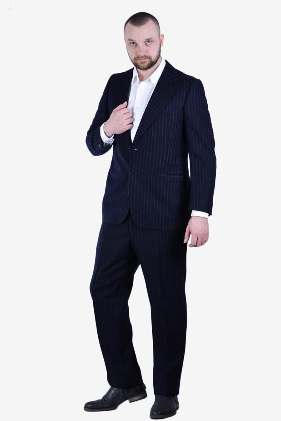 Vintage Daks pinstripe suit