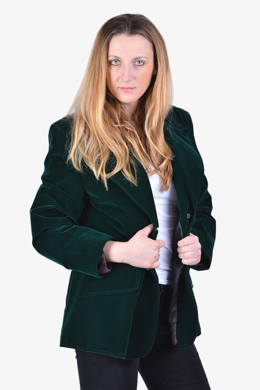 Vintage Rite-Wear velvet jacket