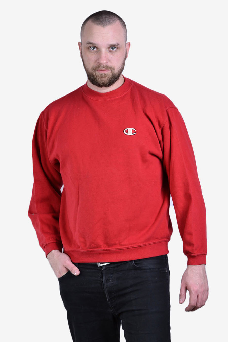 Vintage Champion red sweatshirt