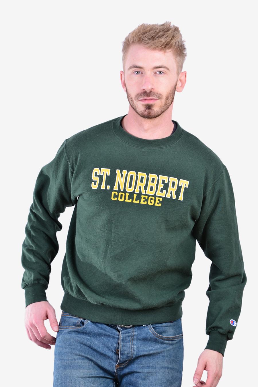 Vintage St.Norbert College sweatshirt