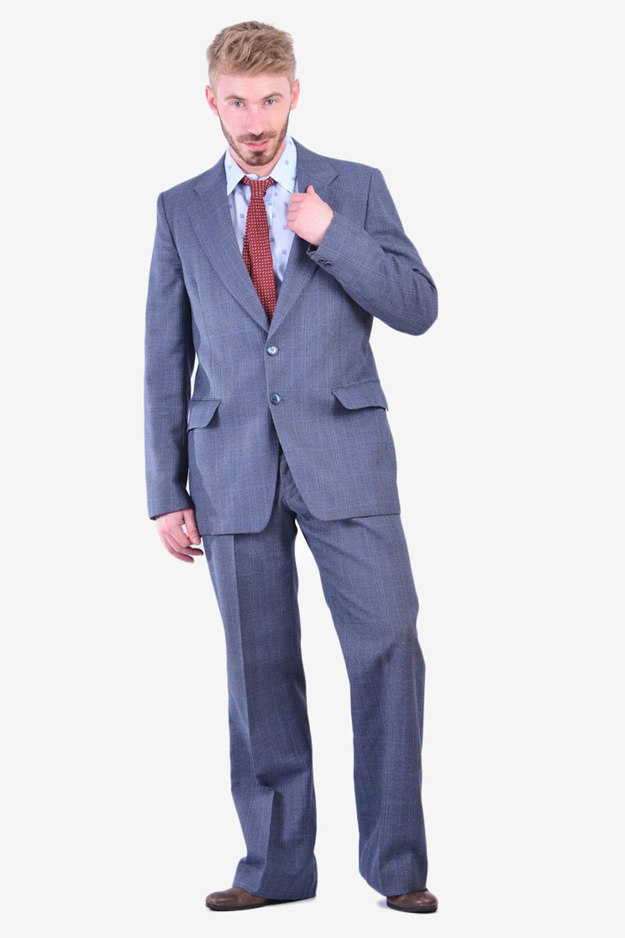 Vintage 1970's Hepworths flared suit