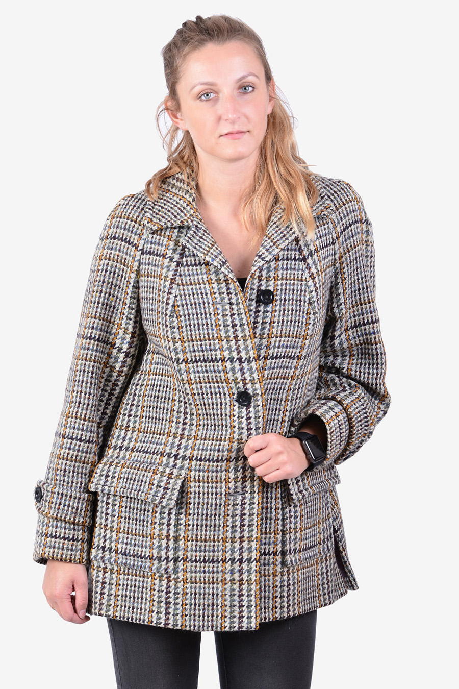 Vintage women's tweed coat
