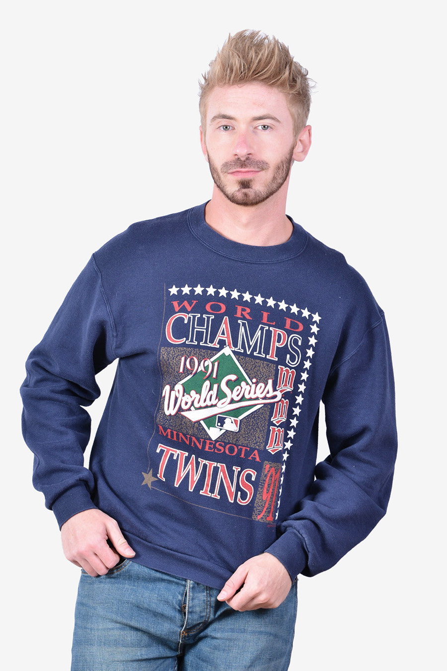 1991 Minnesota Twins World Champs sweatshirt