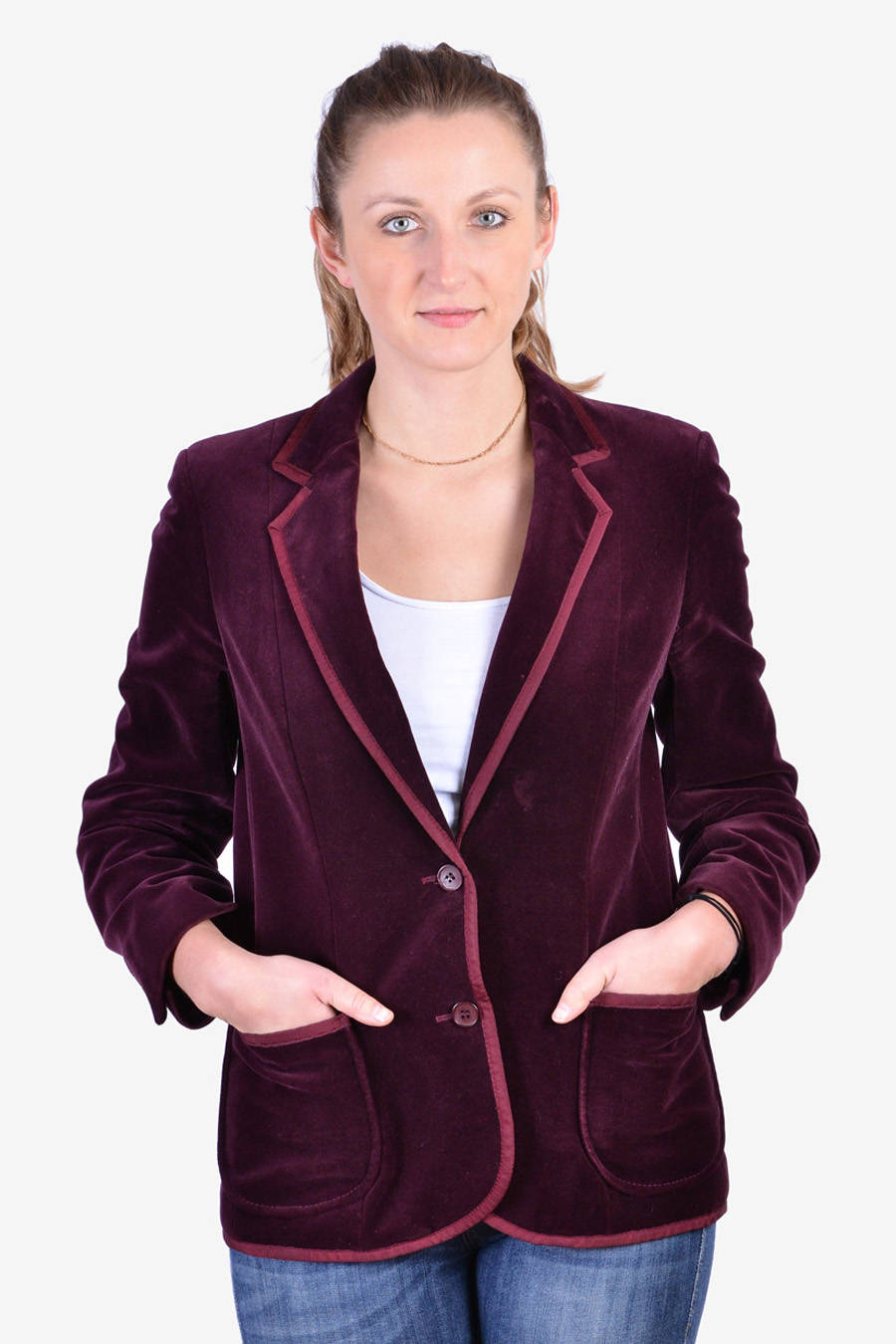 Women's St Michael velvet jacket