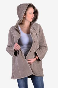 Vintage women's suede coat