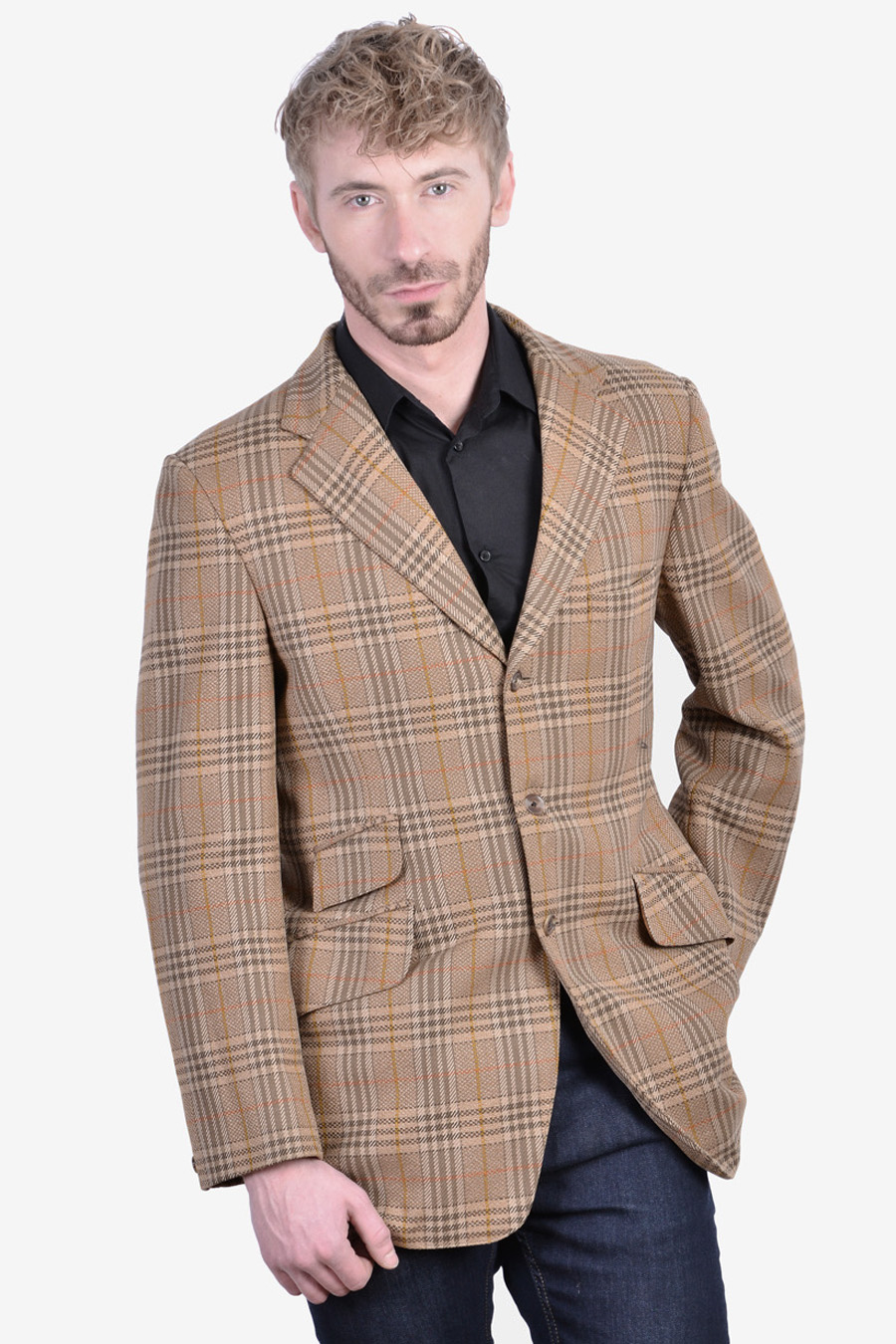 Vintage Bladen Supasax tweed jacket
