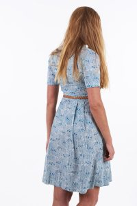 Vintage 1950's tea dress