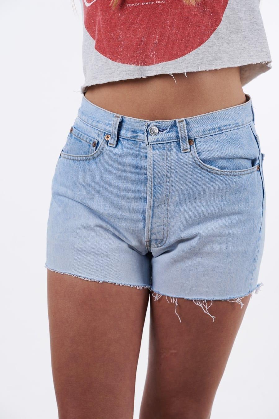Women's Levi's denim shorts