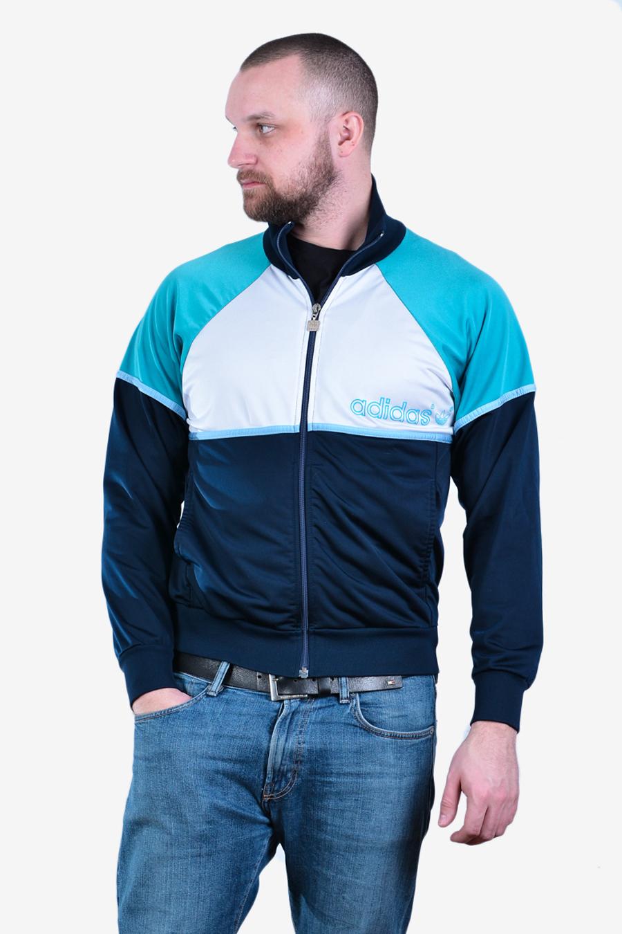 1980's Adidas Track Jacket | Size M