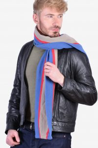 Men's vintage college scarf