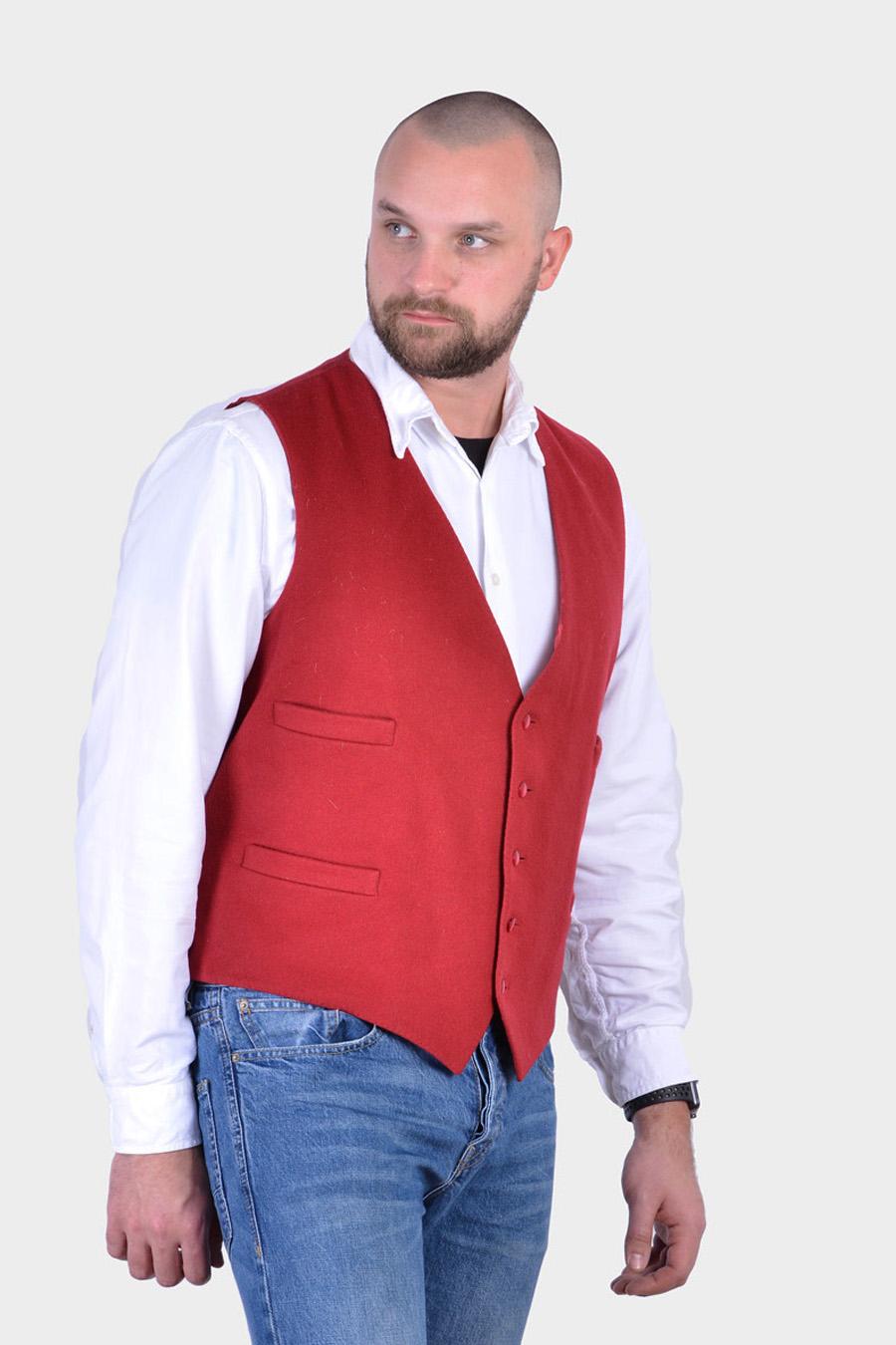 Vintage men's waistcoat