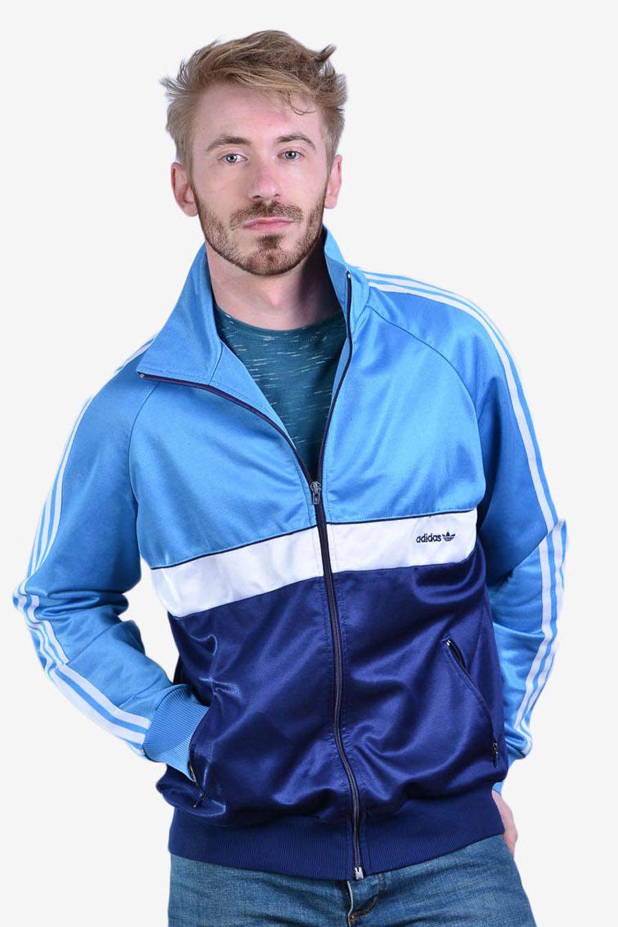 Vintage men's Adidas track jacket