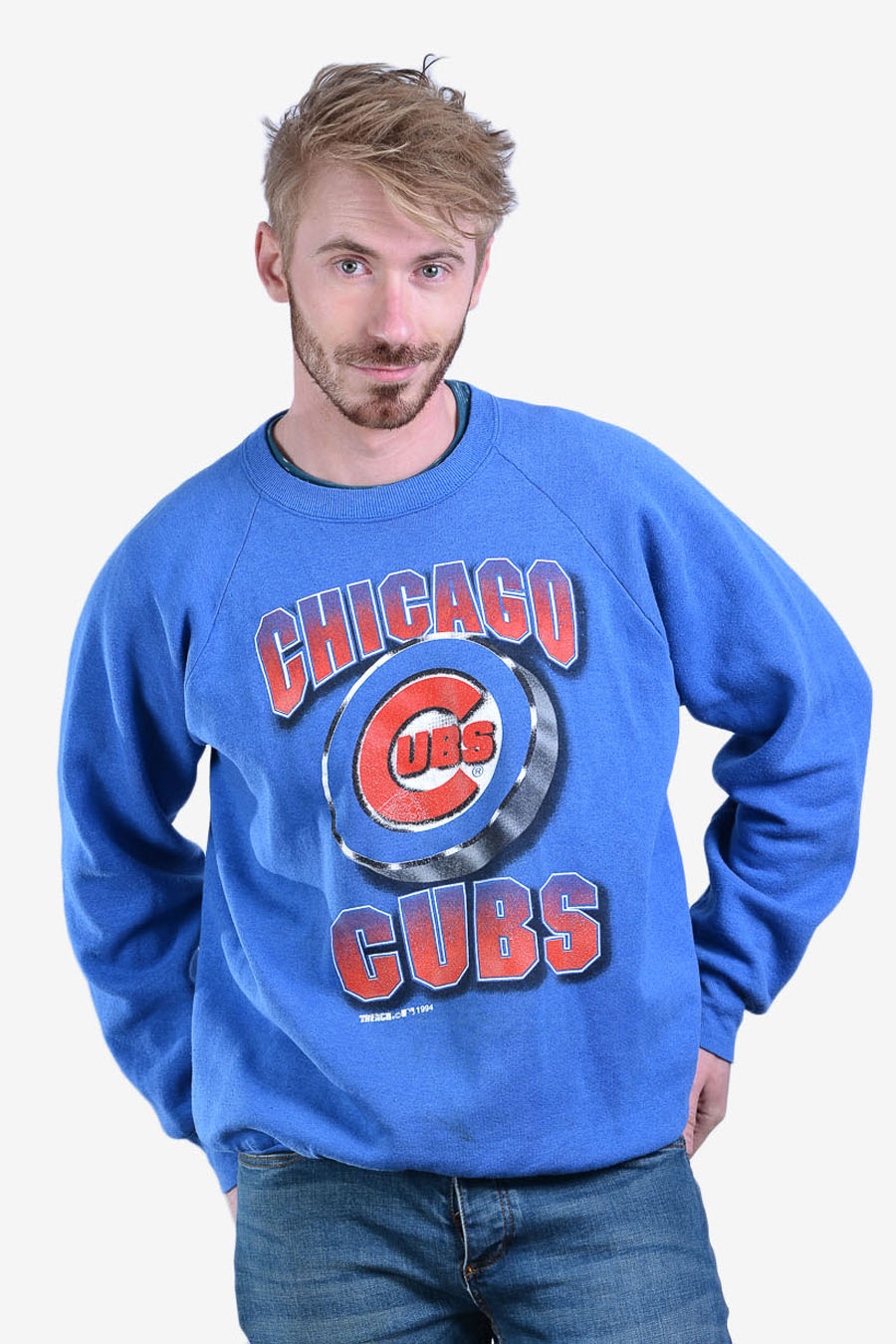 Vintage Chigago Cubs sweatshirt