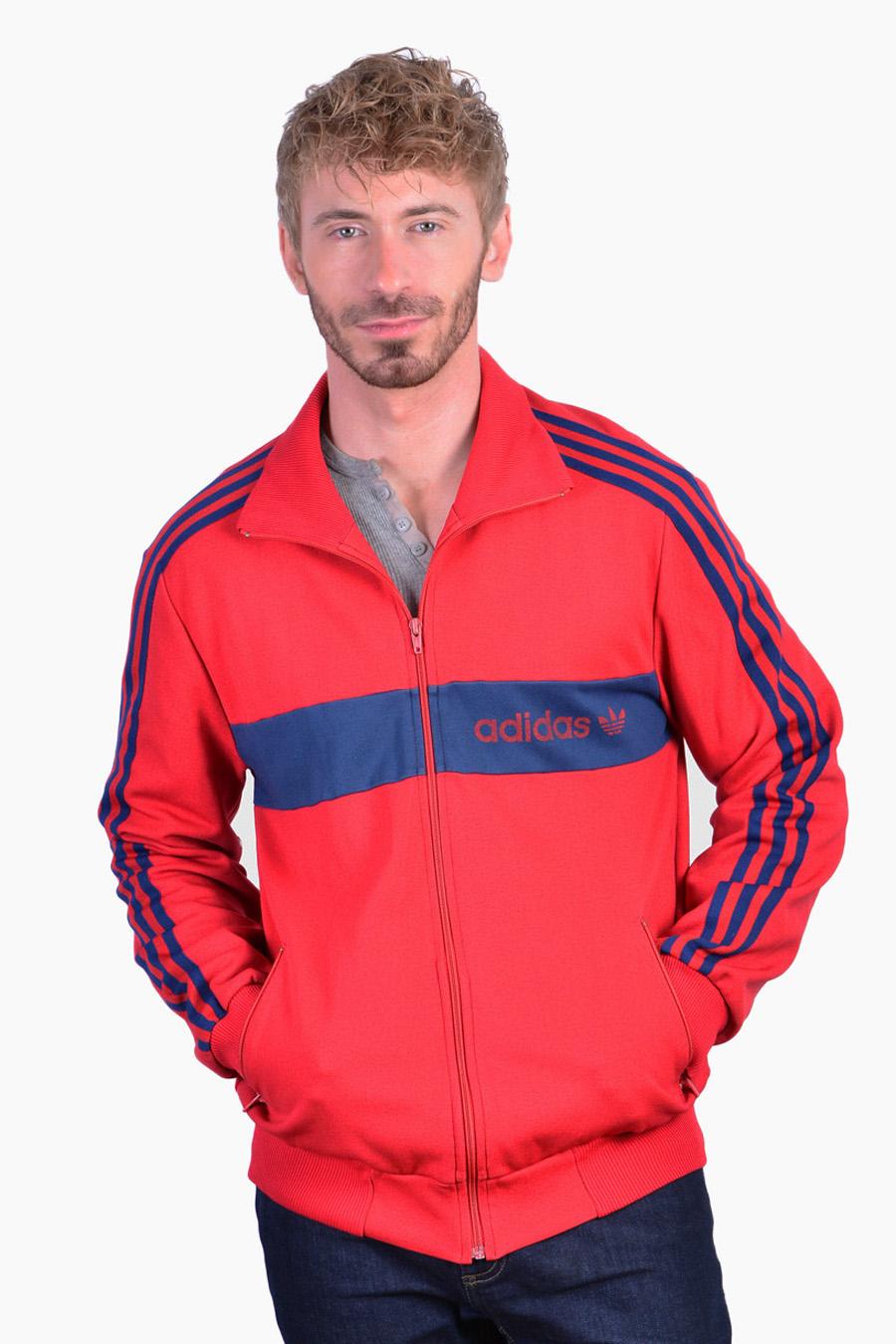 Vintage retro Adidas tracksuit jacket