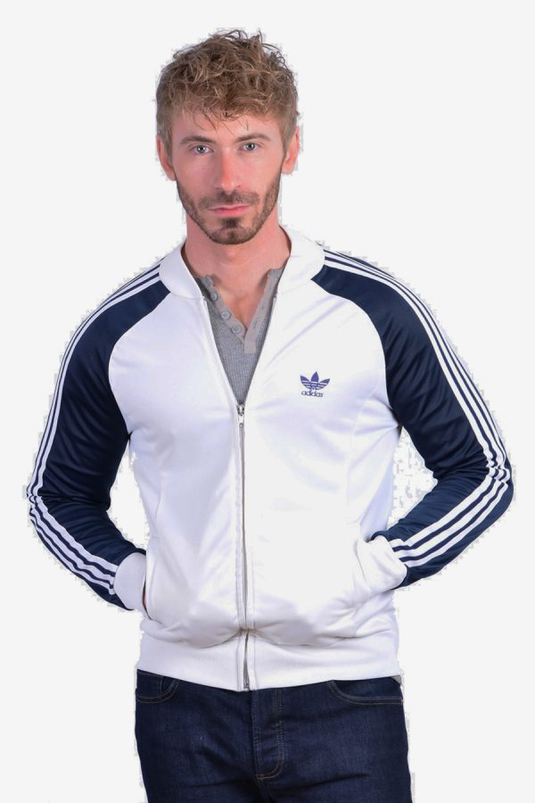 Retro Adidas track jacket.