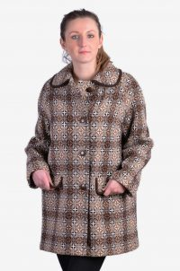 Vintage Welsh Woollens coat