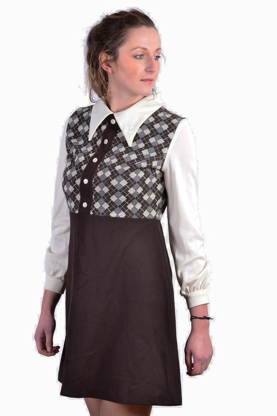 Vintage Miss Devonshire mini dress