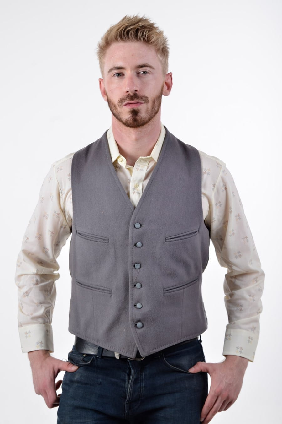 Vintage Dunn & Co men's waistcoat