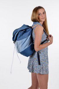 Vintage Levi's denim rucksack