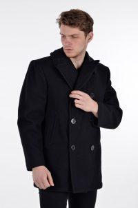 Vintage black pea coat