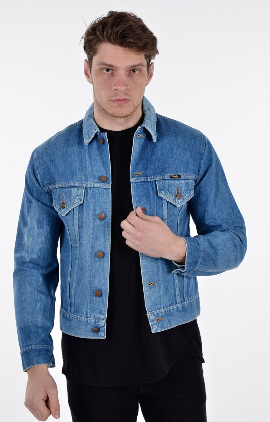 Vintage Wrangler bluebell denim jacket