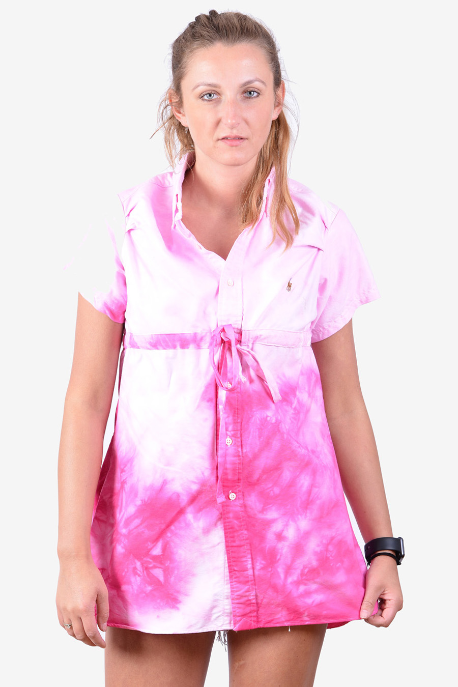 Ralph Lauren tie-dye shirt dress