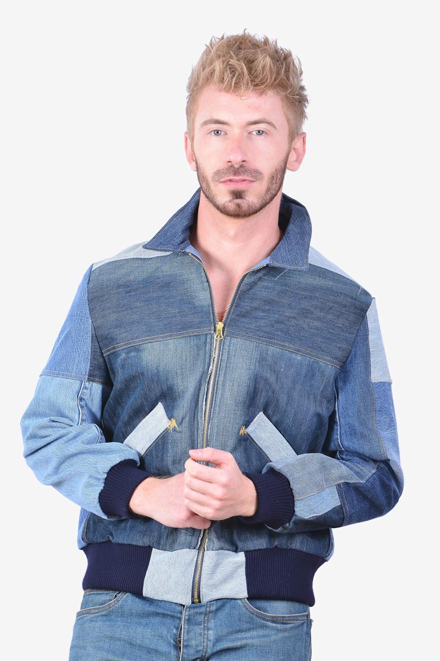 Vintage Levi's denim bomber jacket