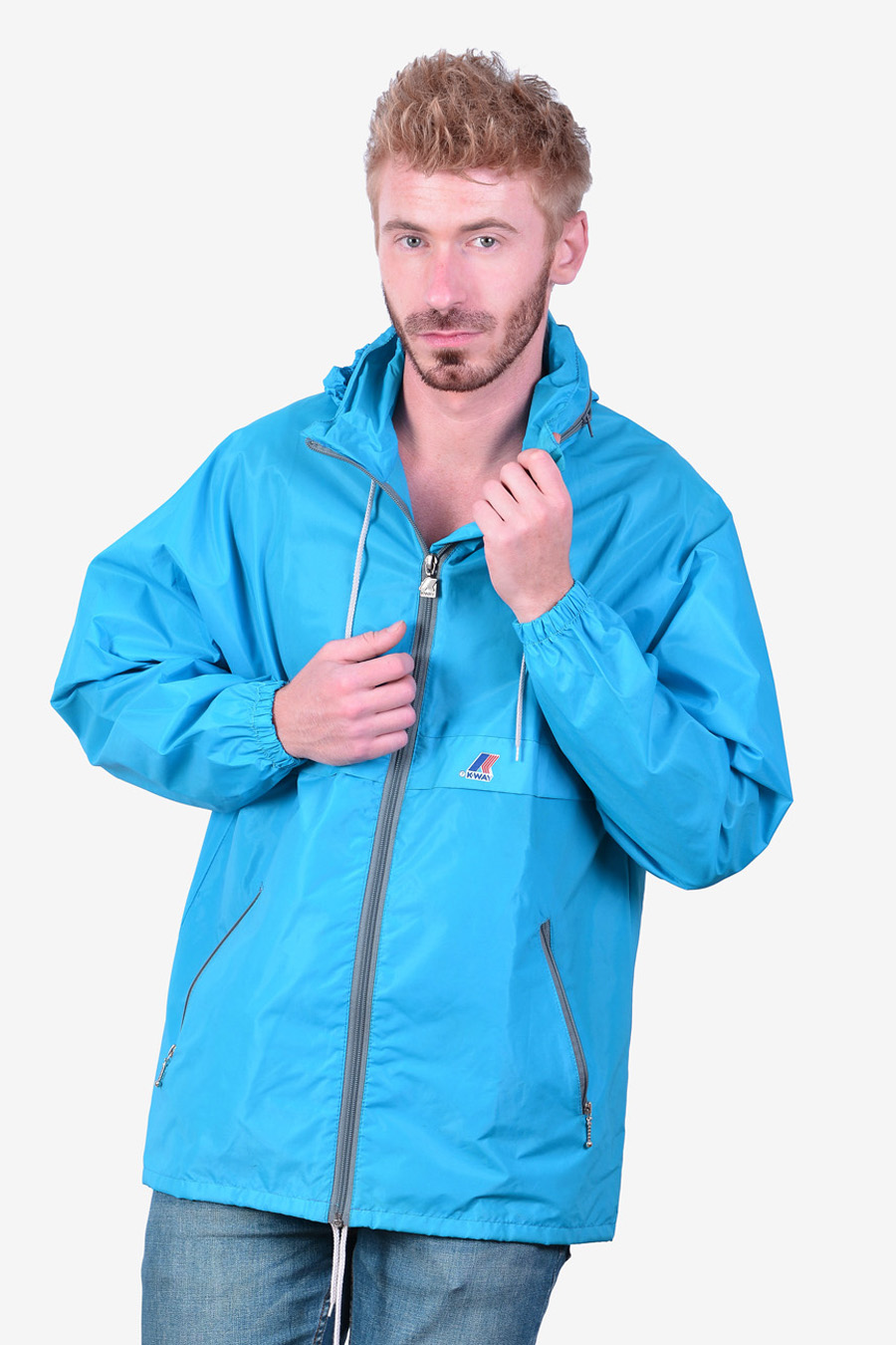 Vintage K Way windbreaker jacket