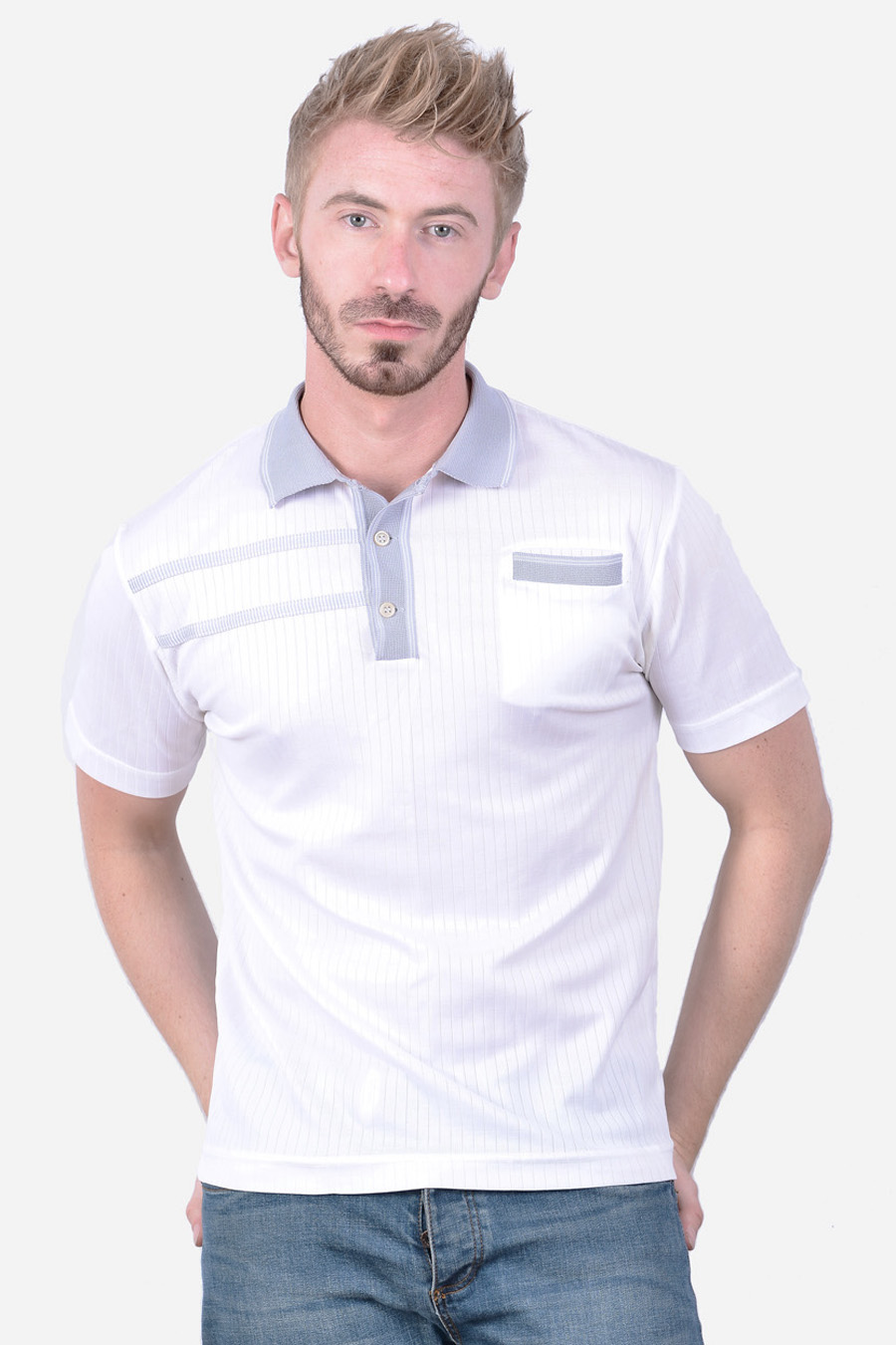Retro 1980's polo shirt