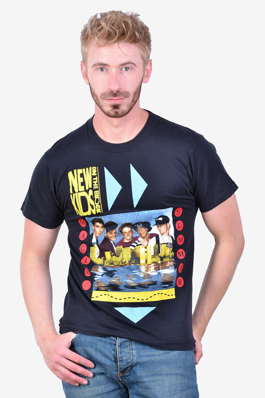 New Kids On The Block Magic Summer T Shirt