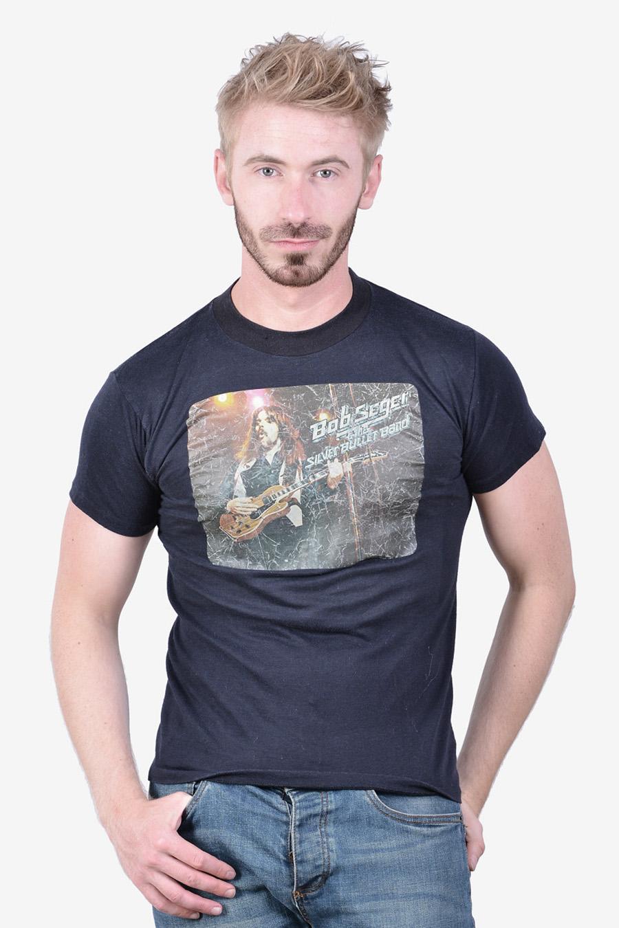 Vintage Bob Seger & The Silver Bullet Band t shirt