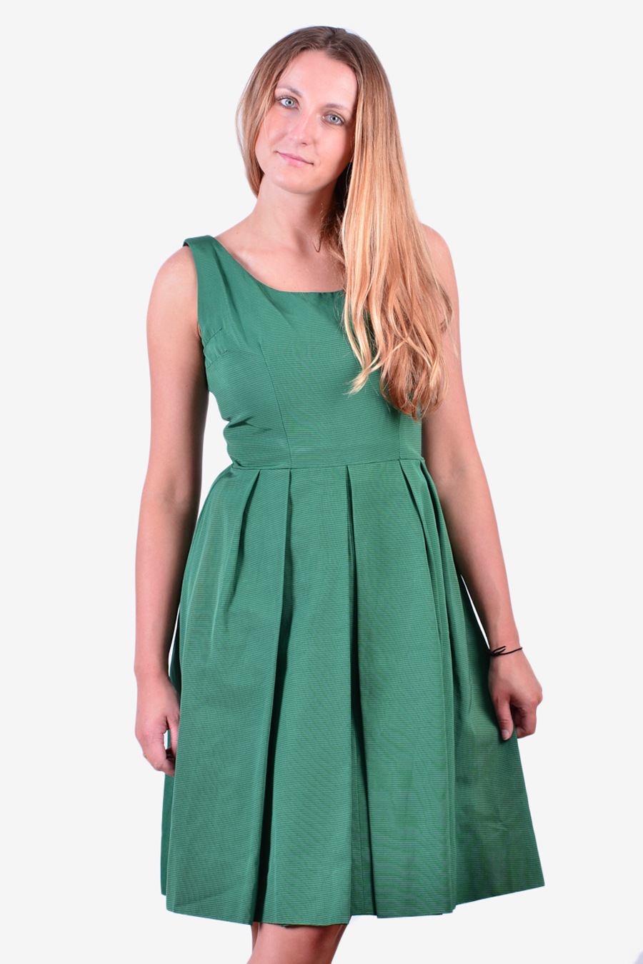 Vintage 1950's green day dress