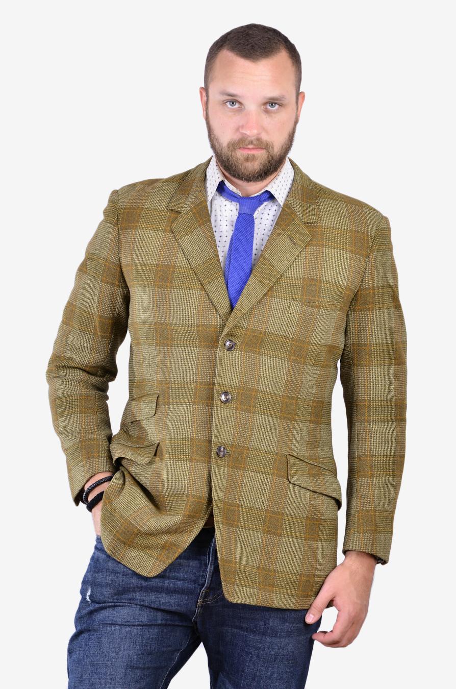 Vintage bespoke tweed jacket