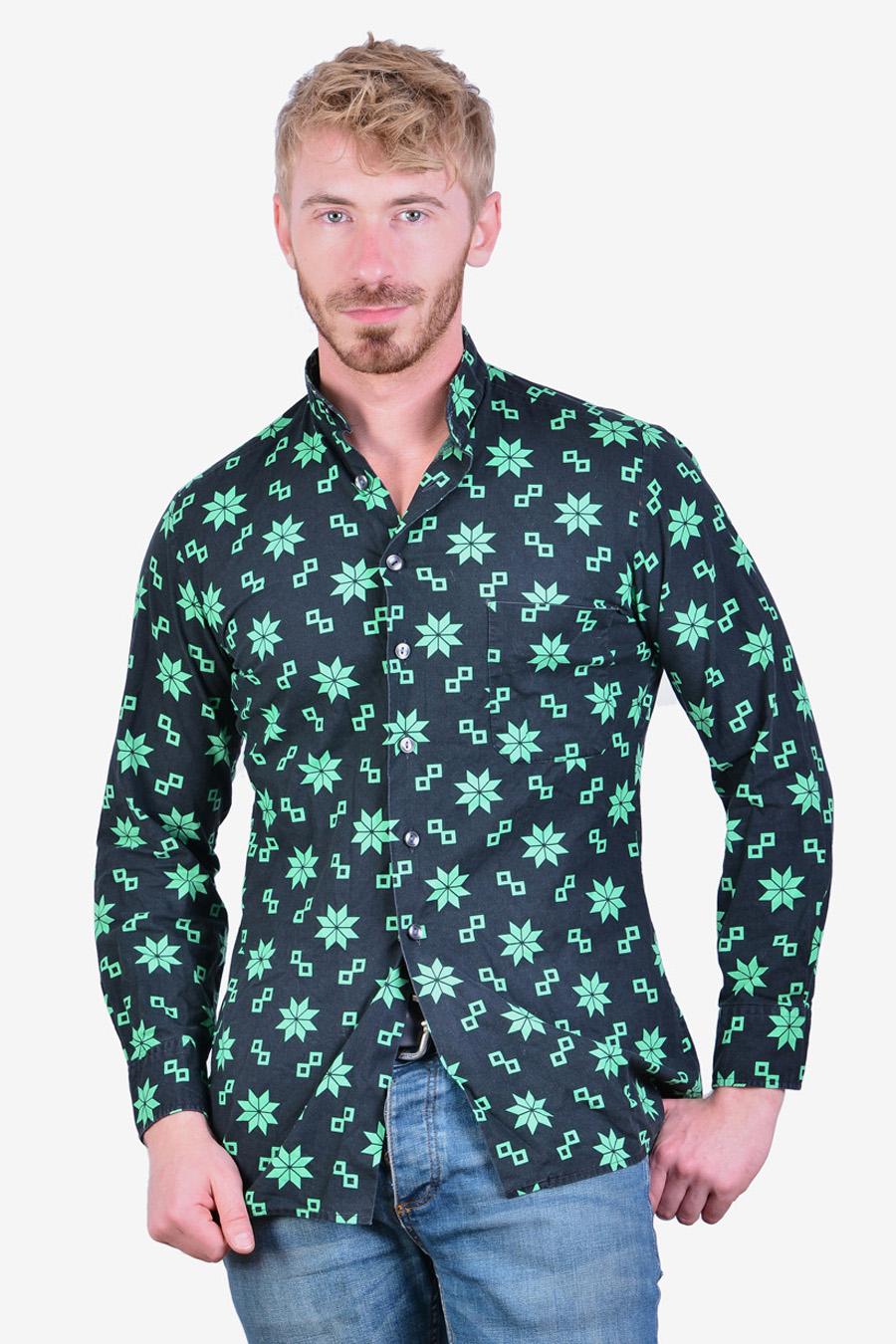 Vintage grandad shirt