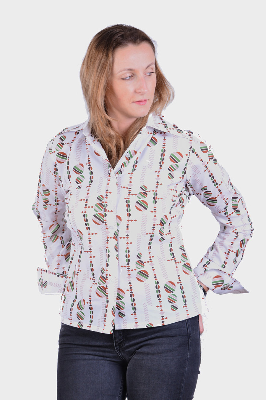 Vintage retro women's shirt