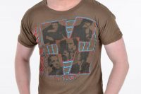 Vintage 1970's Squeeze On Tour t shirt