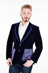 Vintage St Michael velvet jacket
