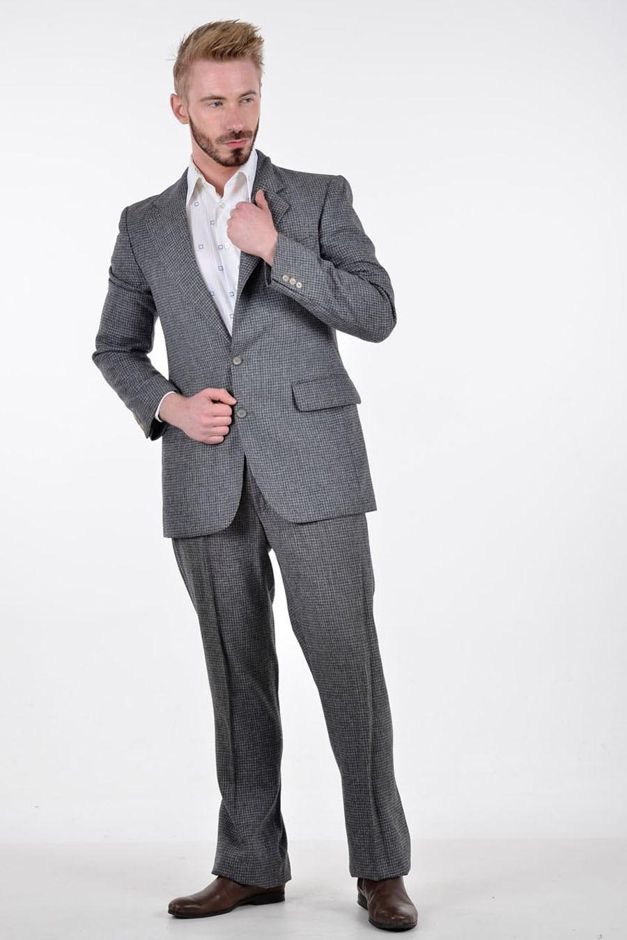Vintage 1970's wool suit