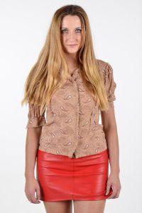 Vintage 1960's paisley blouse