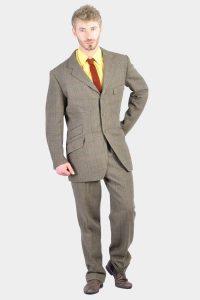 Vintage men's check tweed