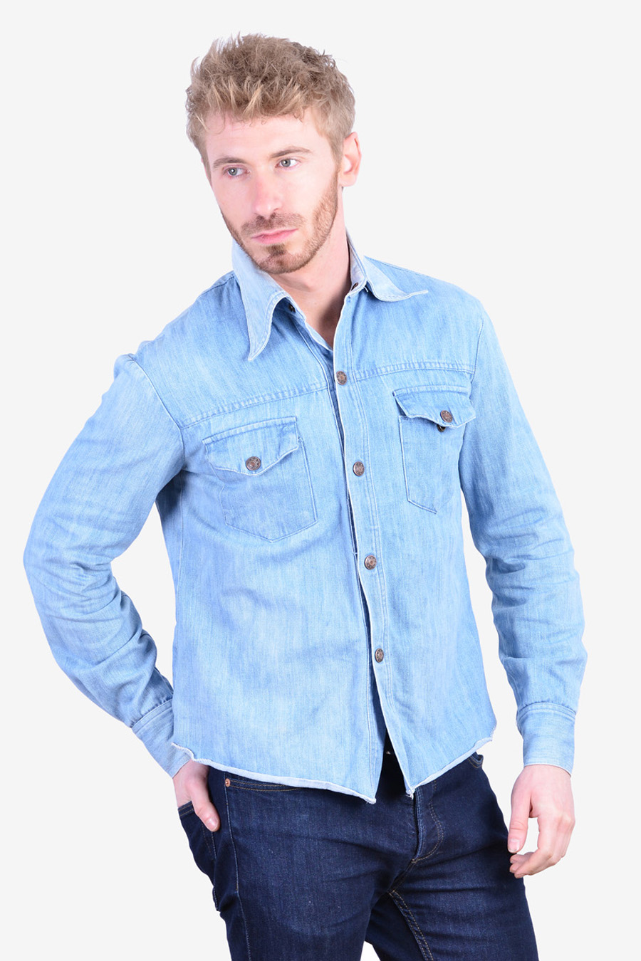 Vintage 1970's denim shirt