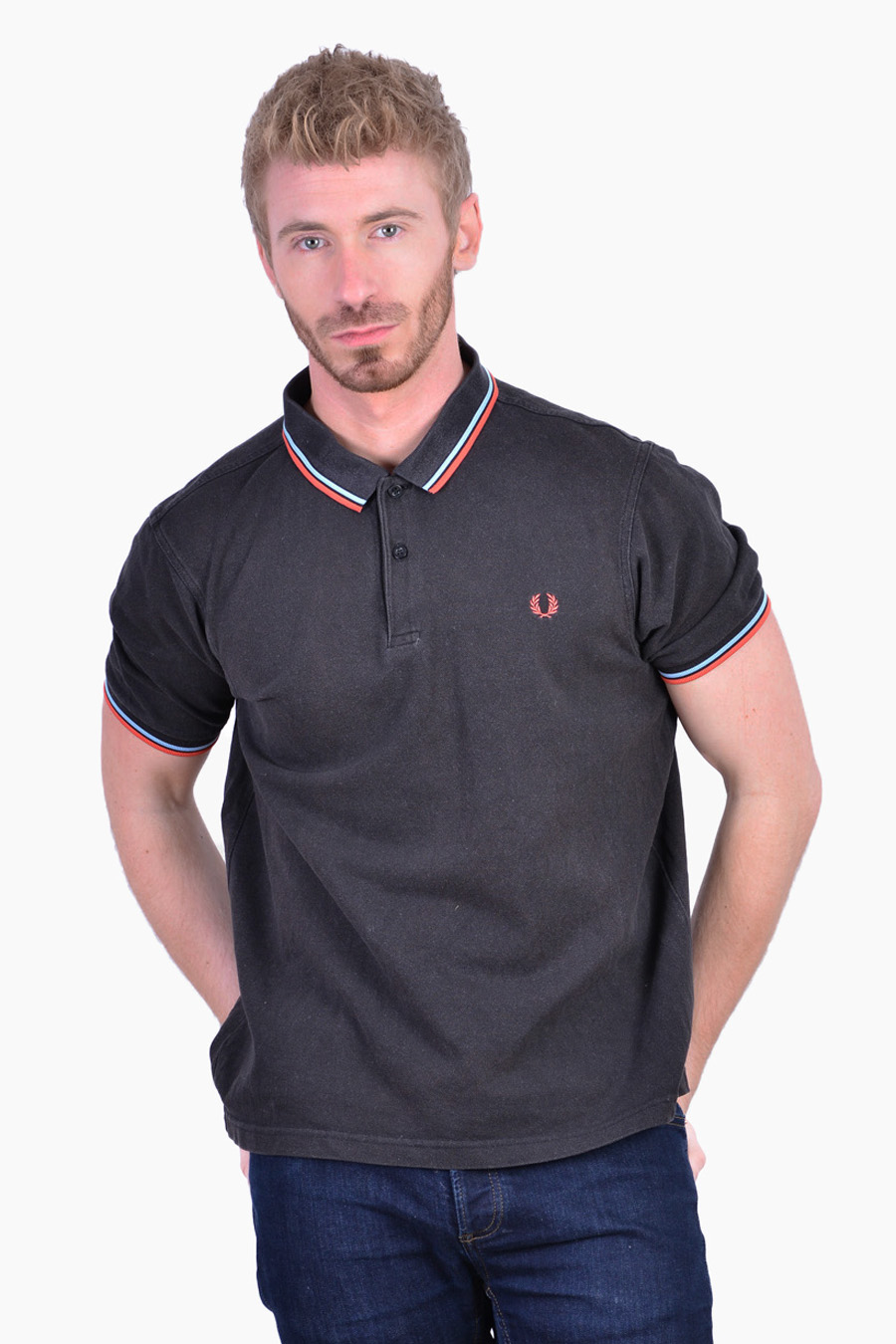 Vintage Fred Perry Slim Fit polo shirt