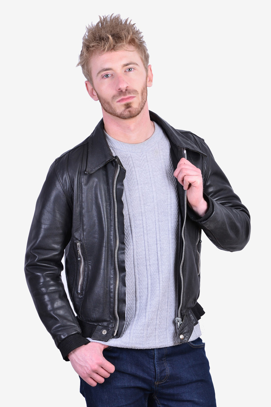 Vintage 1960's Belstaff leather jacket