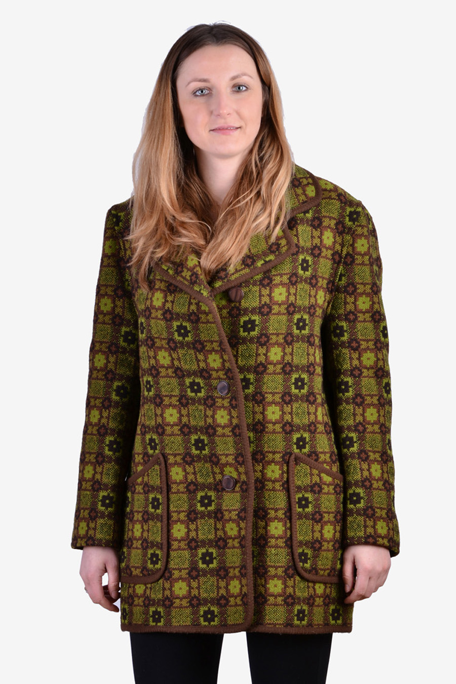 Women's welsh woollens coat