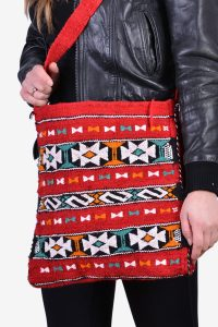 Vintage Aztec shoulder bag