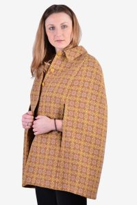 1960's Welsh Woollens cape