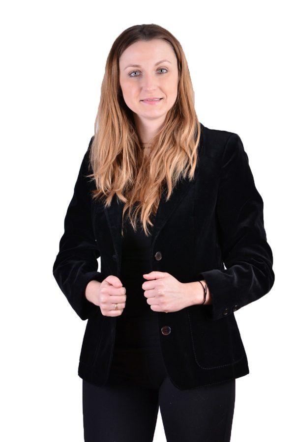 Vintage Bicker velvet jacket