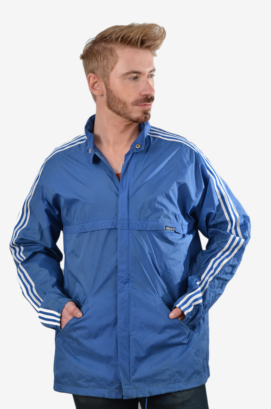 Adidas men's vintage windcheater