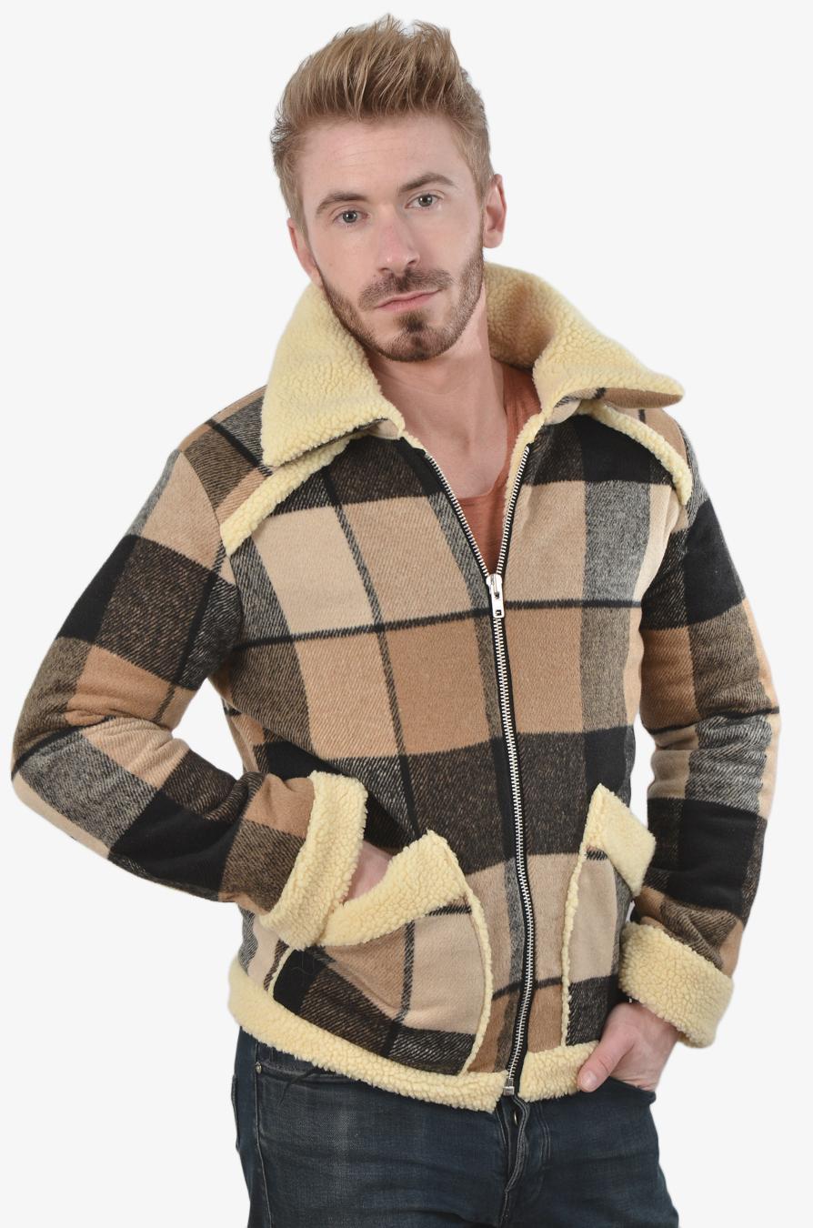 Handmade bomber jacket
