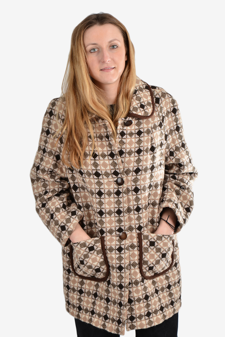 Welsh Woollens tapestry coat